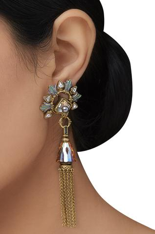 Amrapali Baroque Tassel Earrings