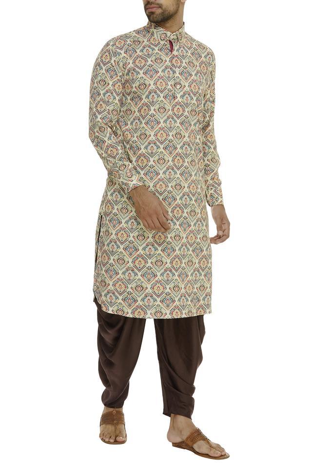 Elastic Waist Dhoti Pants