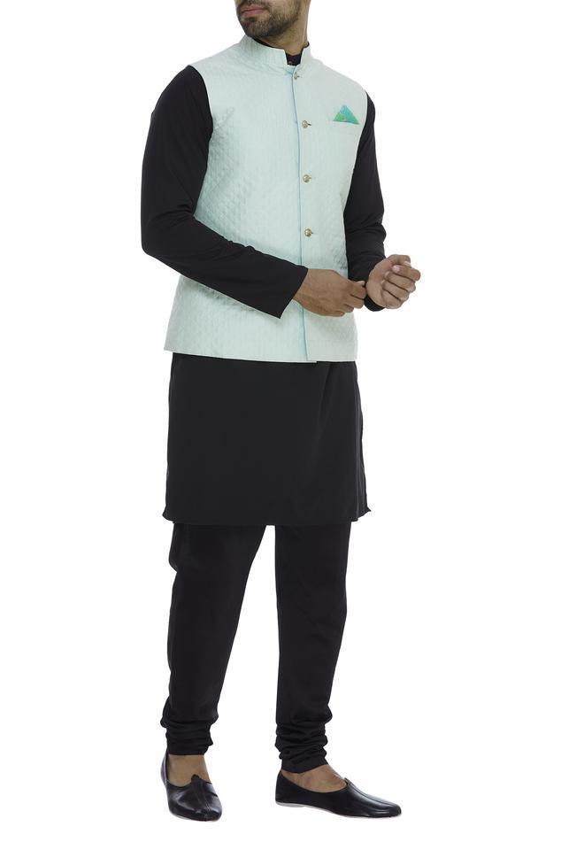 Cotton Silk Reversible Bundi