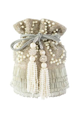 Bead Fringed Flapper Potli Bag