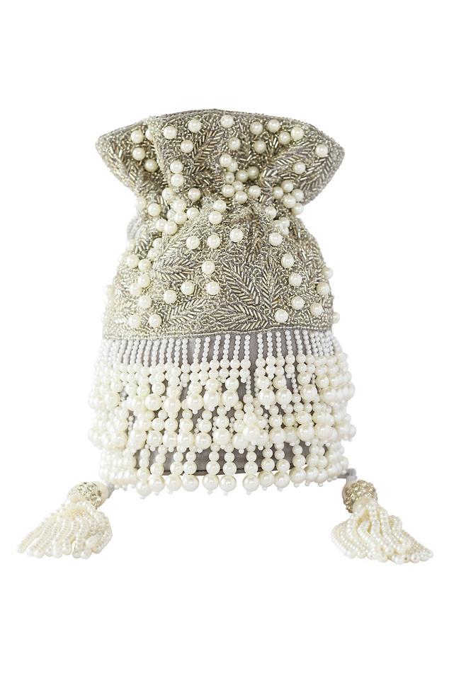 Handcrafted Pearl Potli Bag