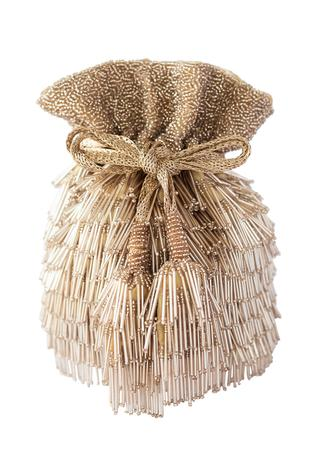 Bead Fringed Potli bag