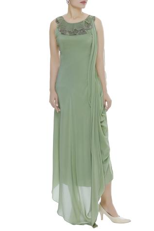 Draped Dress