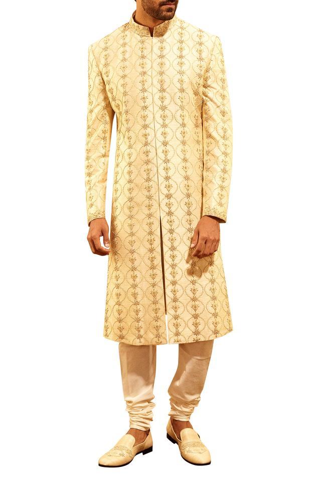 Dabka Embroidered Sherwani