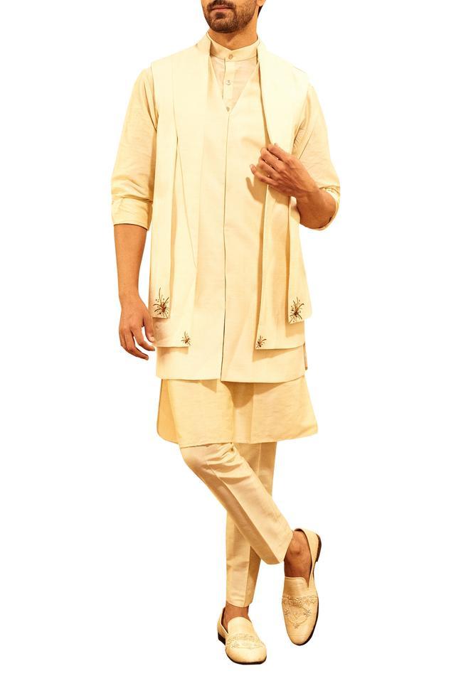 Layered Nehru Jacket