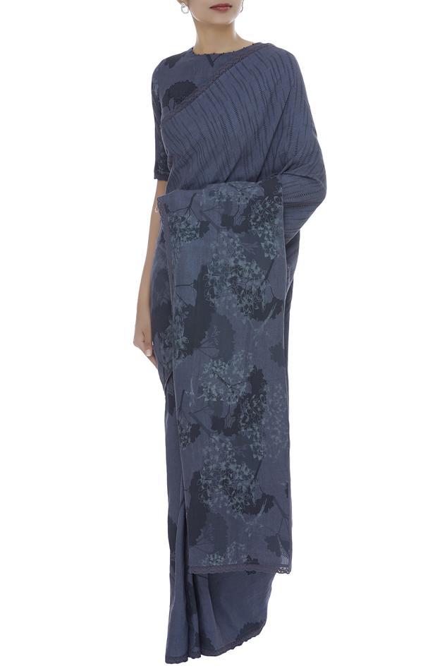 Hand painted saree