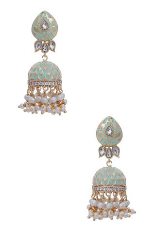Handcrafted Jhumka Earrings