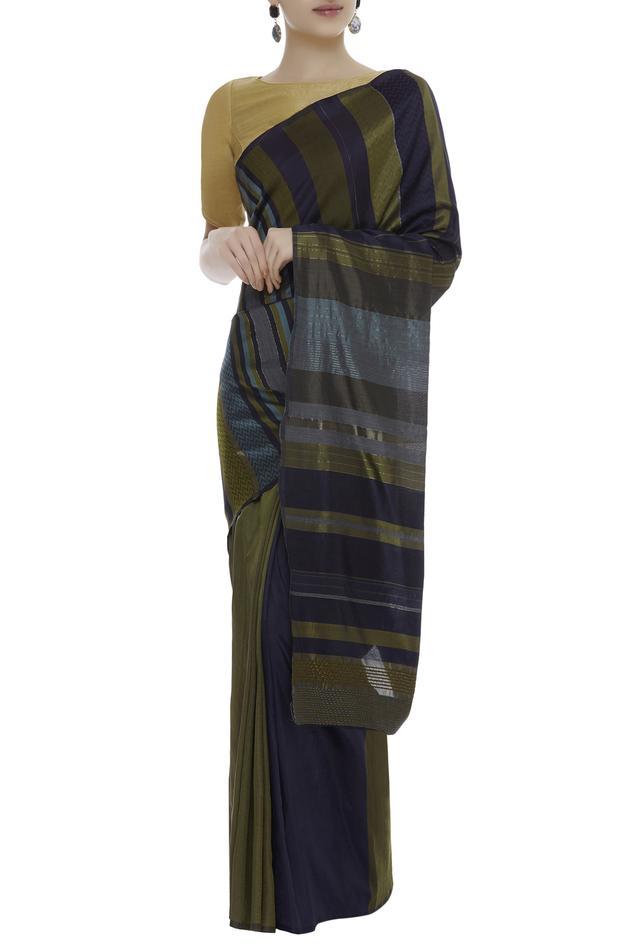 Silk Striped Saree