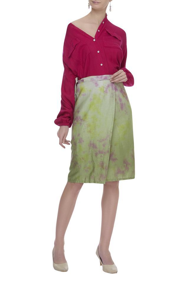Tie Dye Skirt & Shirt Set