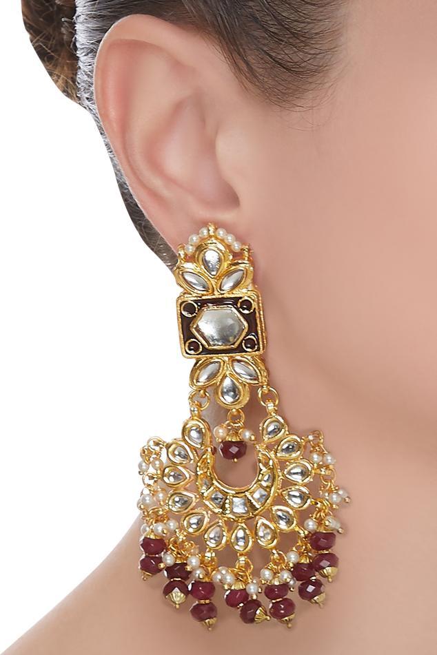 Jadtar Chandbali Earrings