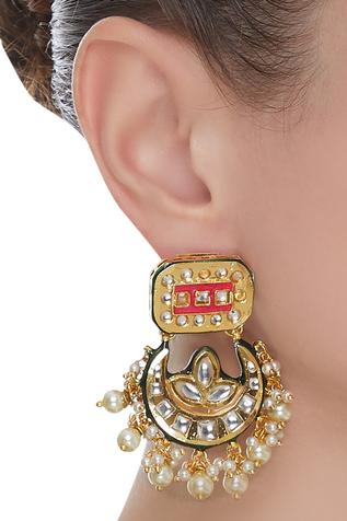 Jadtar Chandbali Earrings