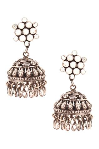 Baroque Jhumka Earrings