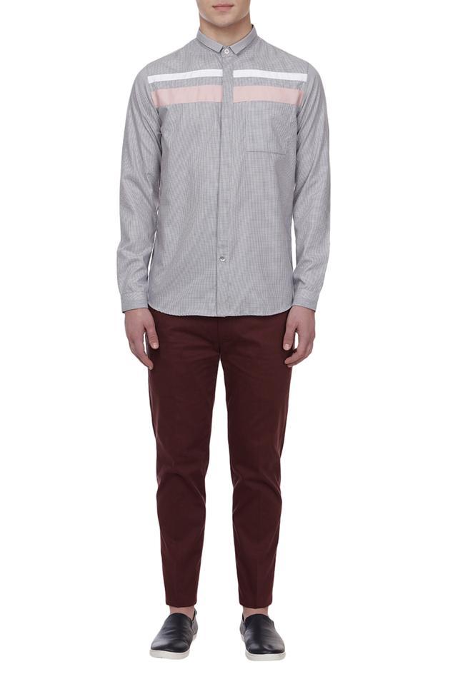 Grid Checkered Shirt