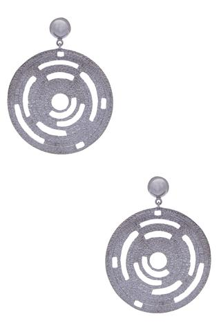 Circular Dangler Earrings