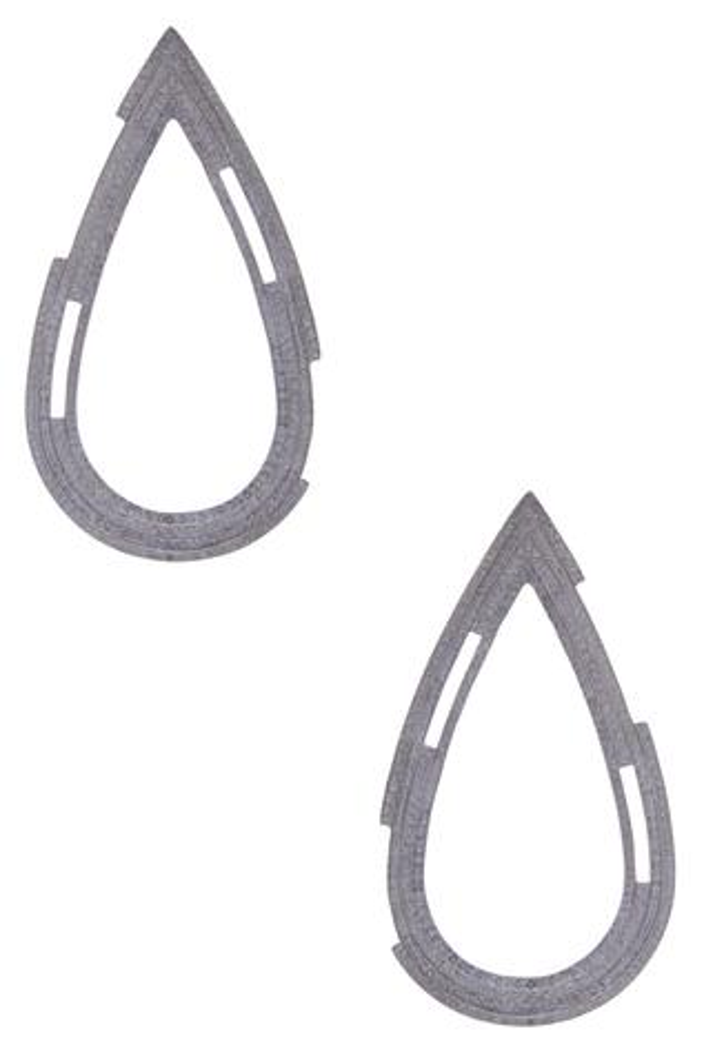 Textured Drop Earrings