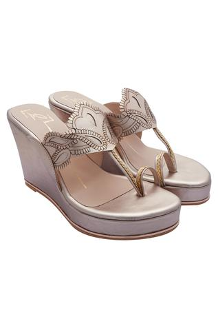 Kolhapuri Laser Cut Wedges