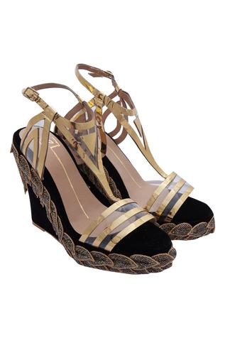 Laser Cut Embroidered Wedges