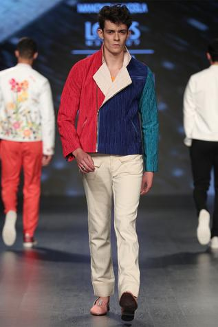 Textured jacket with pants