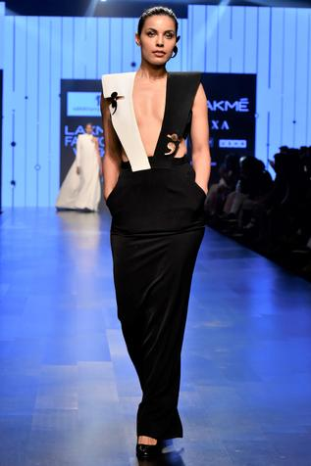 Suspender Style Gown
