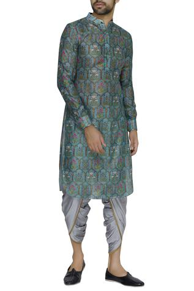 Cotton Silk Dhoti Pant