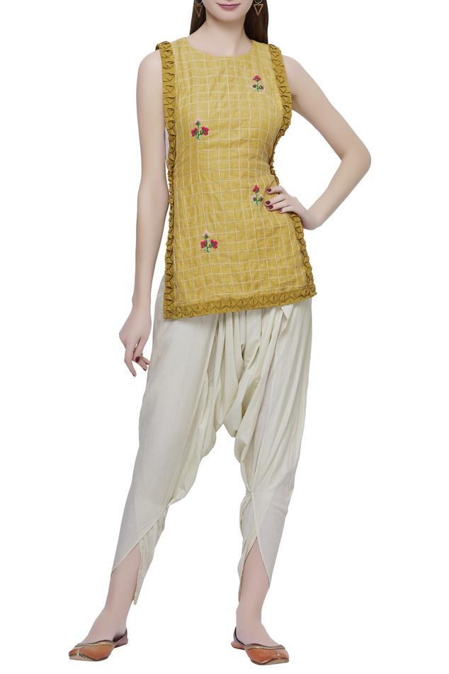 Ivory Dhoti Pants