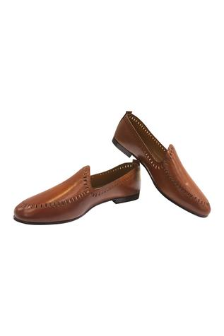 Cutwork loafers