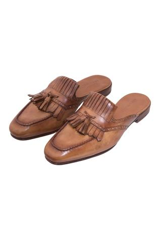 Broque Mule Shoes