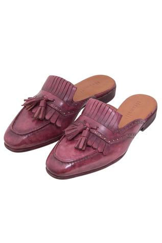 Tassel Mule Shoes