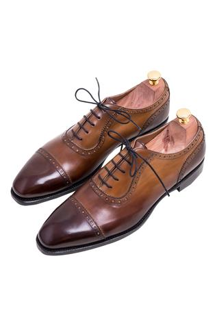 Handpainted Brogue Shoes