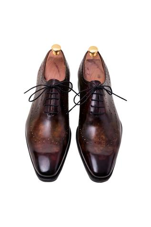 Handpainted Brogue Shoes