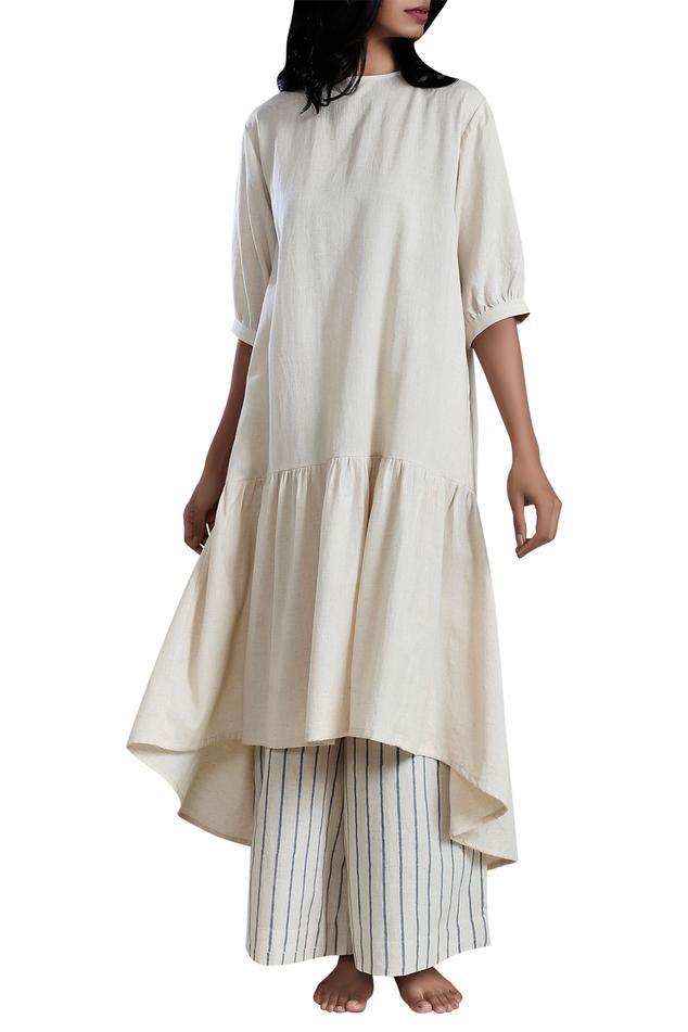 Handloom Linen Dress