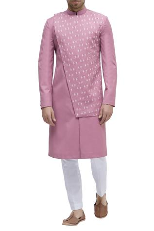 Embroidered Sherwani With Trouser