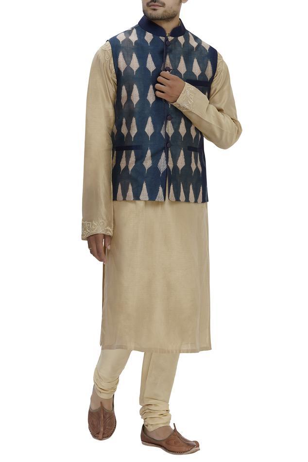 Silk Shibori Bundi Jacket