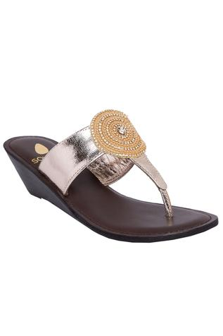 Handcrafted slip on sandals