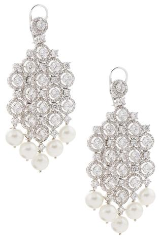 Crystal chandeliar earrings