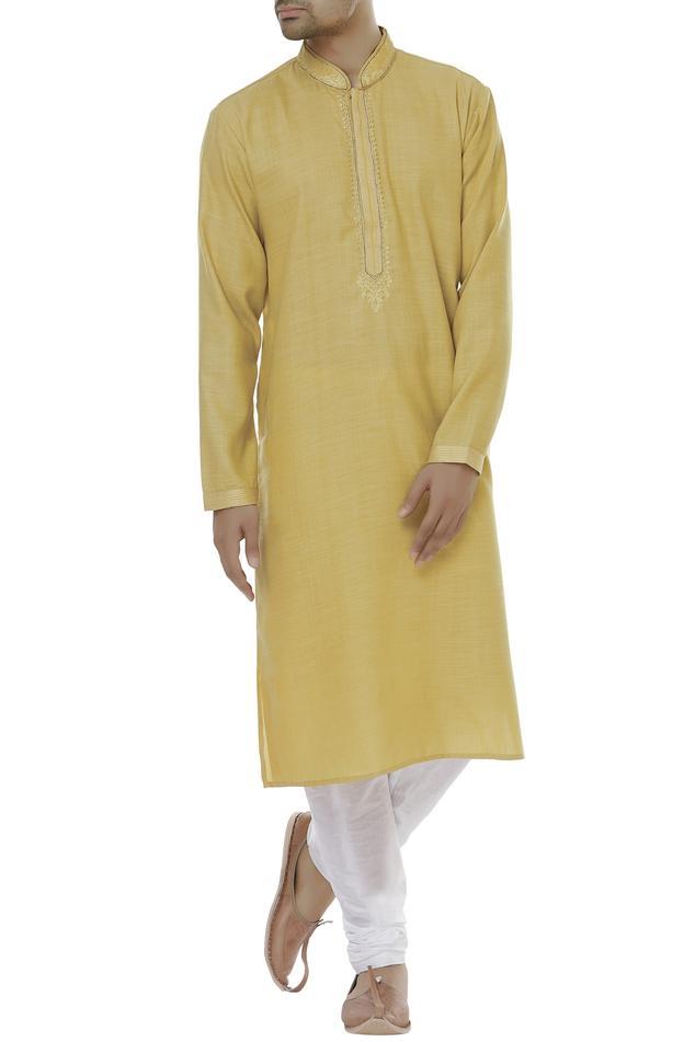 Straight kurta with churidar