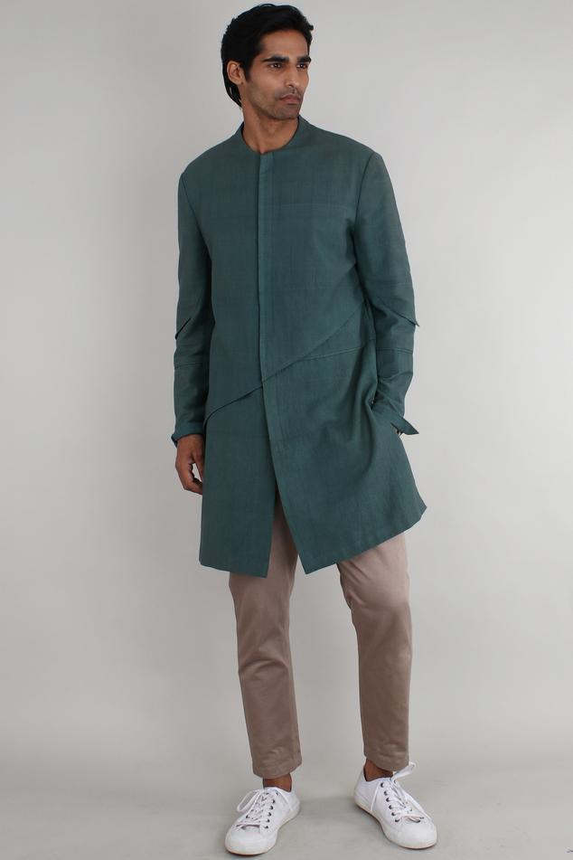 Handwoven cotton jacket