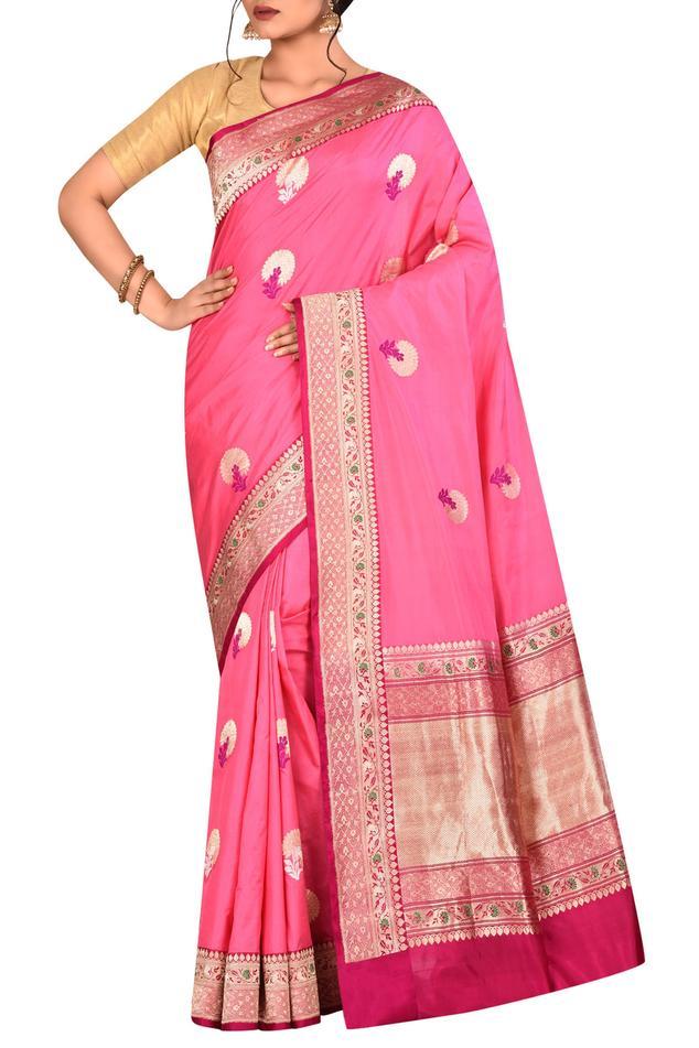 Pure Banarasi silk handloom saree