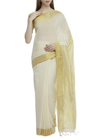 Cotton Saree with Running Blouse