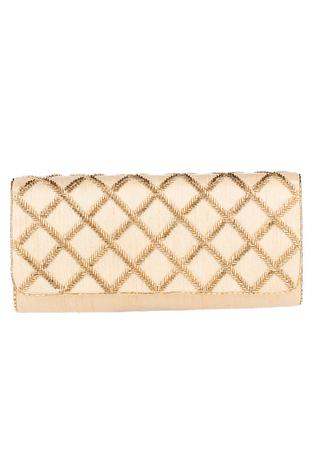 Embellished Flap Clutch