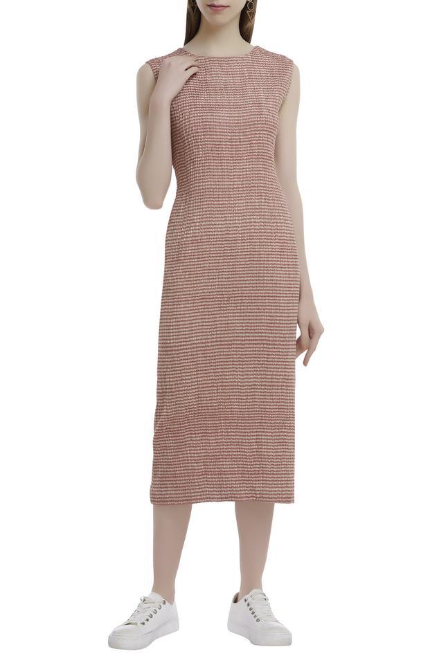 Handwoven Striped Dress