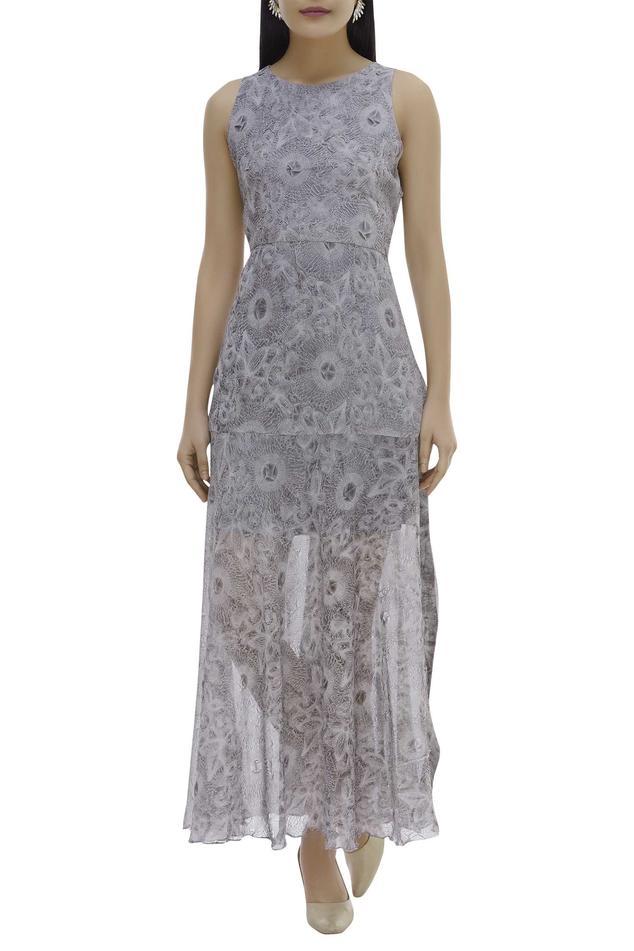 Crushed Organza Dress