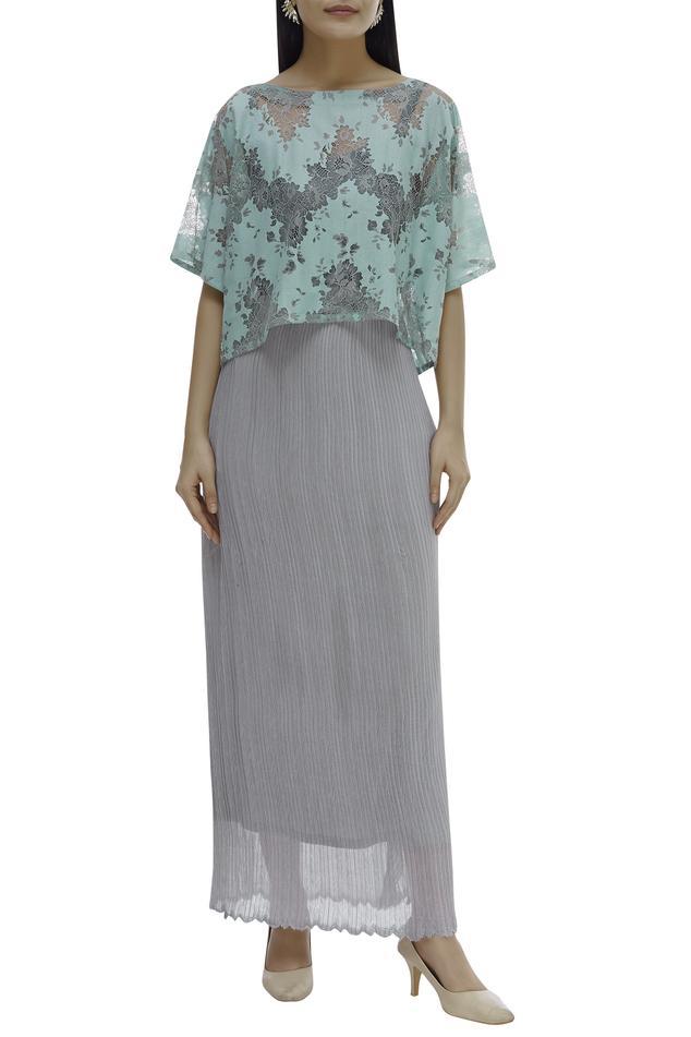 Textured Skirt Set