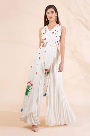 Embroidered Jumpsuit