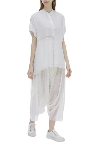 Organic Cotton Draped Pants