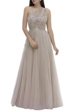 Hand Embroidered Gown