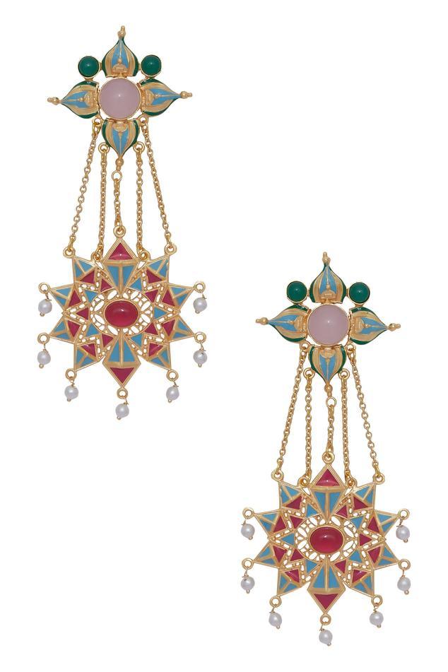 Handcrafted Chandelier Earrings