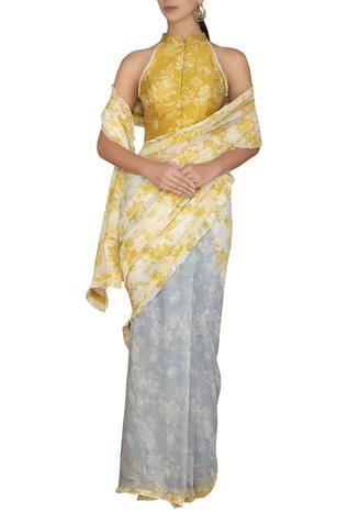 Printed Saree with Blouse