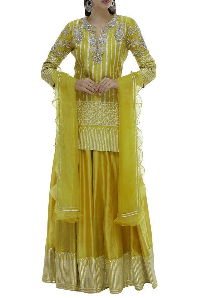 Chanderi Silk Kurta Set