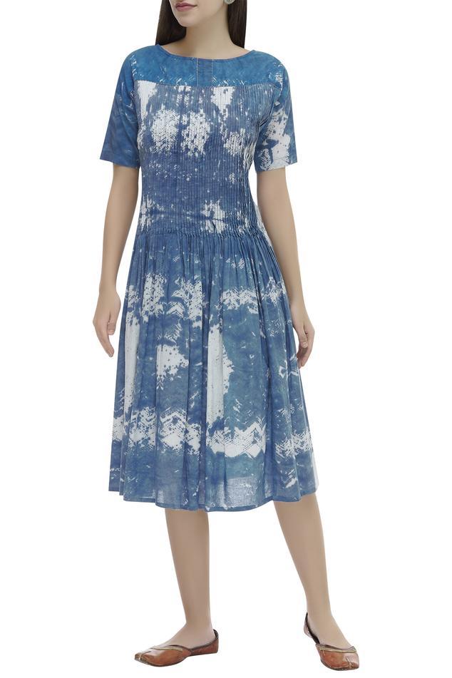 Shibori Midi Dress